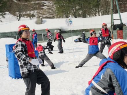 白熱の雪合戦